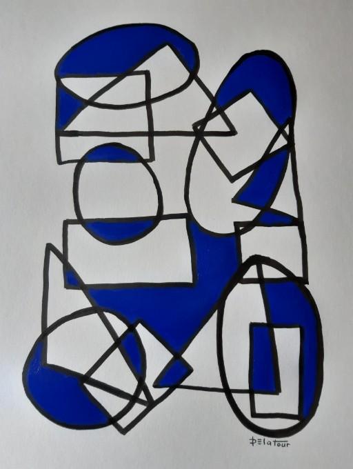 AP 28 Acrylic on paper 50X64 cm