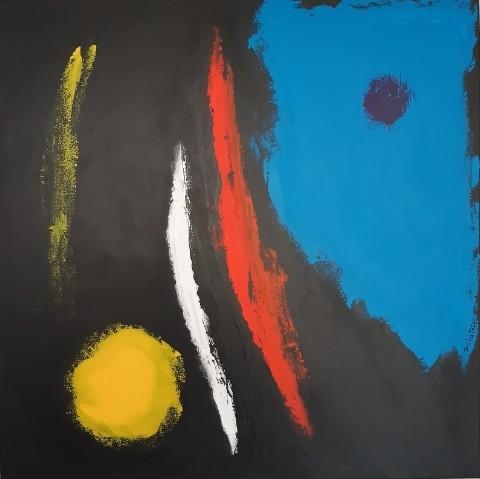 BAP 20 - acrylic on canvas 80X80 cm
