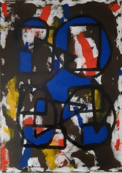 BAP color2 - acrylic on canvas 50 X 70 cm