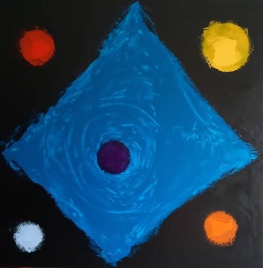BAP 22 Acrylic on canvas 80X80 cm